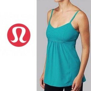 Lululemon Fouette Exercise Top in Teal